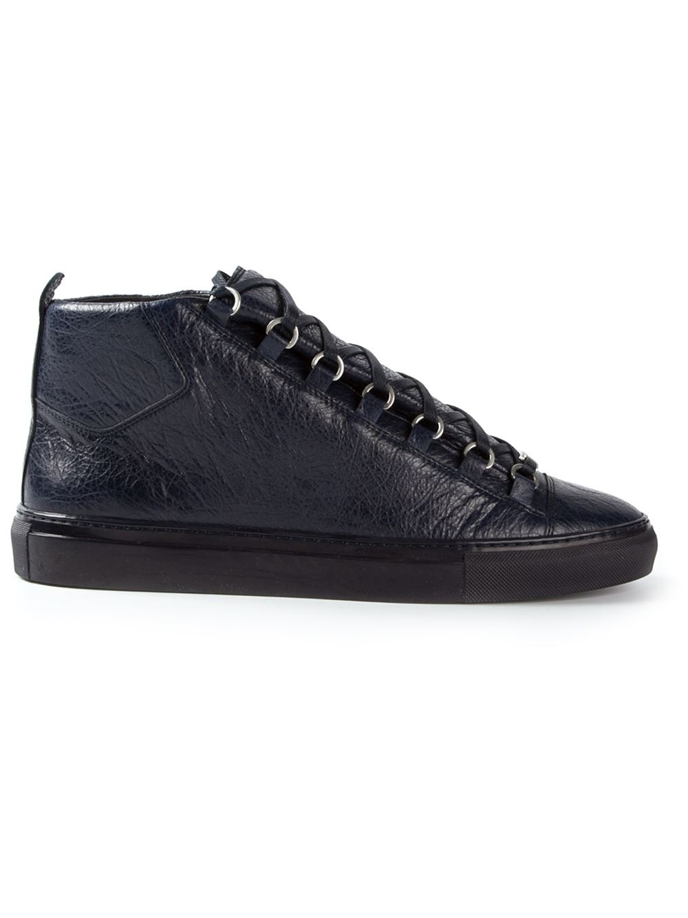 Lyst Balenciaga Arena Sneakers In Blue For Men