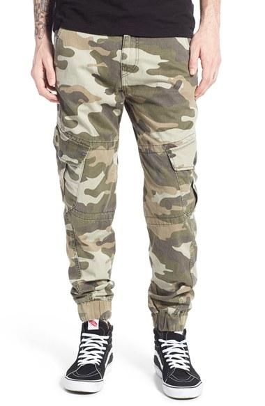 Lyst - True Religion Camo Cargo Jogger Pants in Green for Men d5fdafb59c12