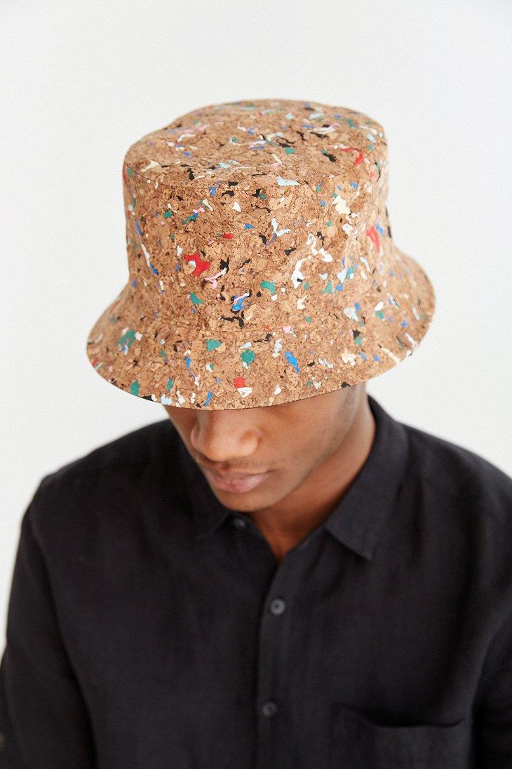 Lyst - Kangol Cork Bucket Hat in Brown for Men