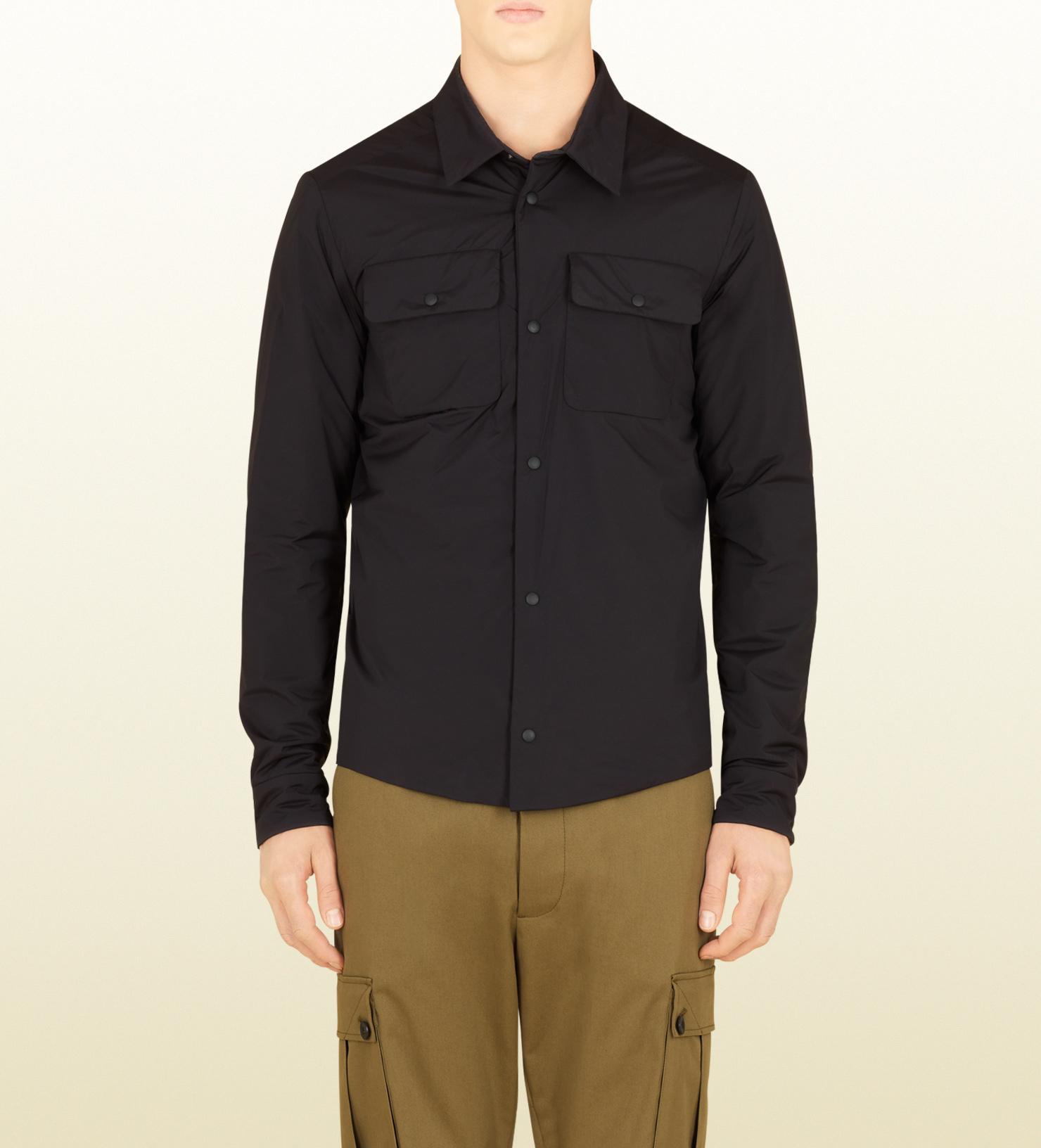 Black Nylon Shirt 23