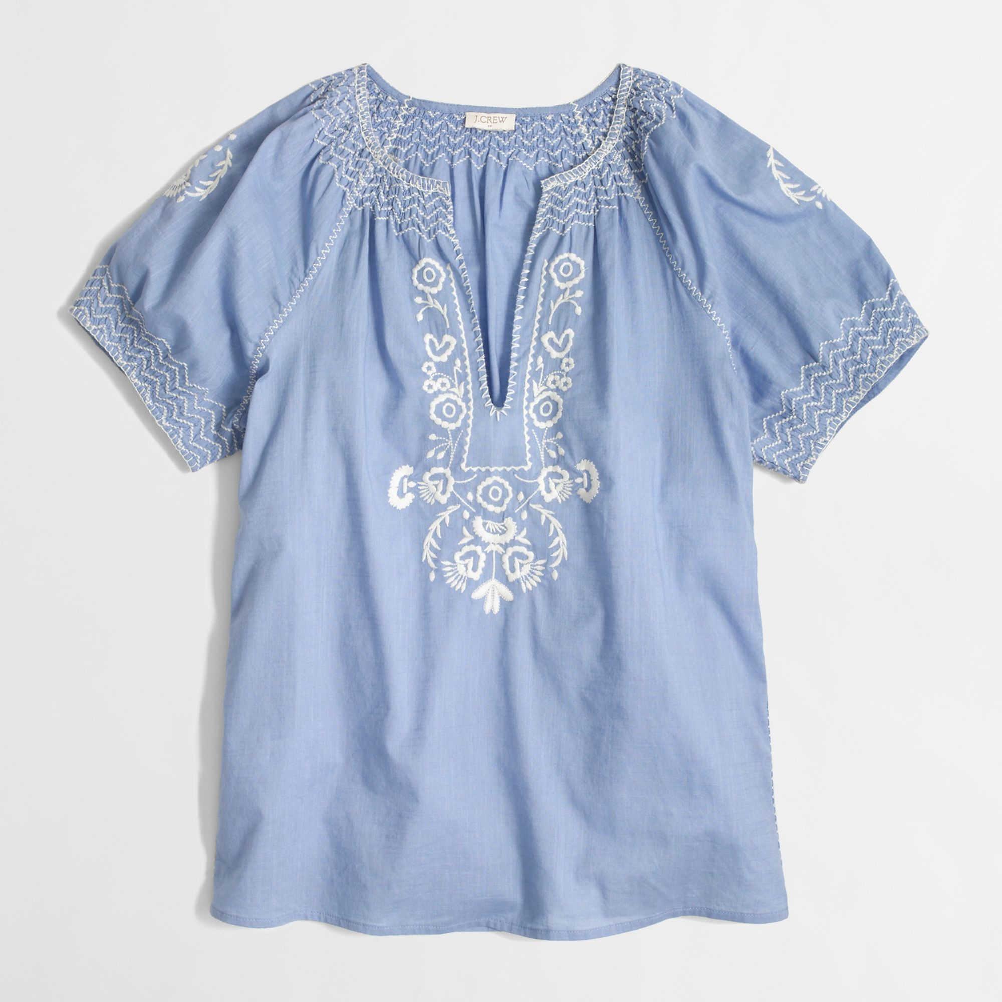 Jcrew Peasant Blouse 78