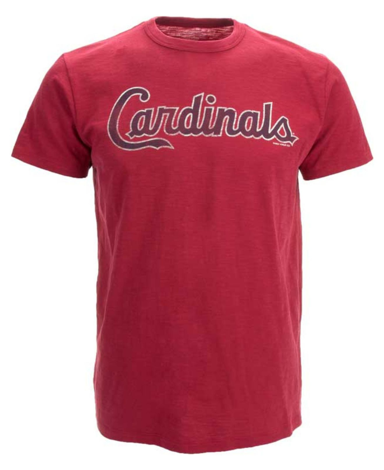47 brand men 39 s st louis cardinals scrum t shirt in red for St louis t shirt printing