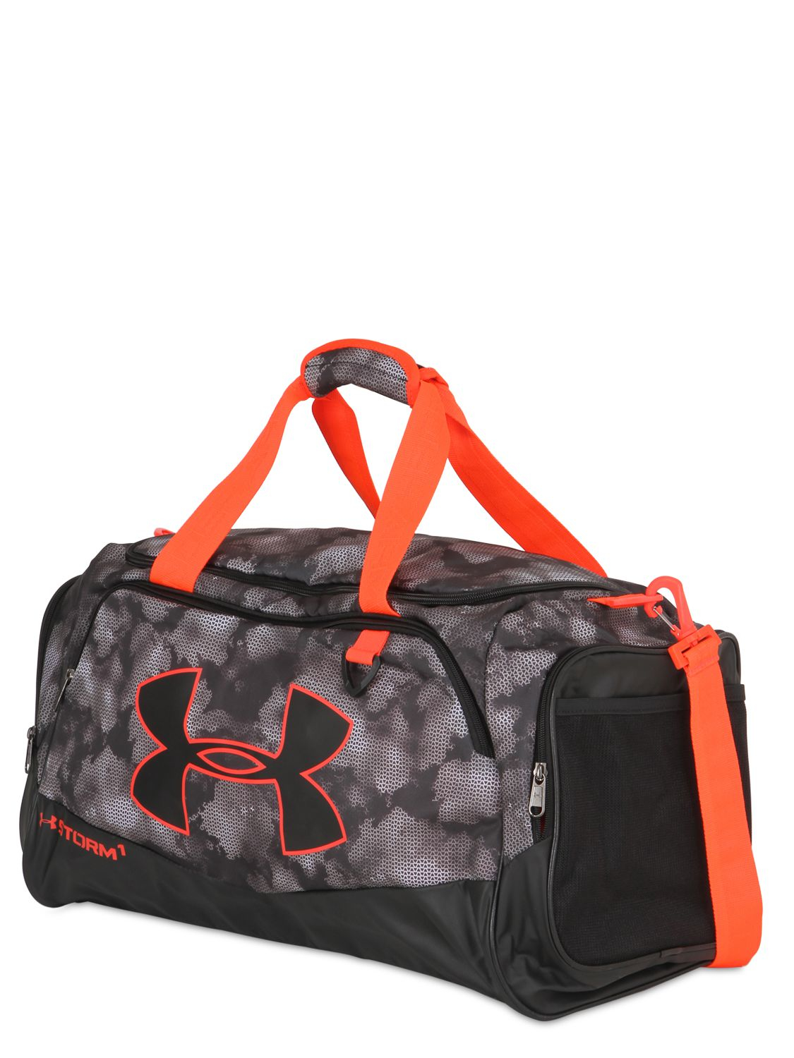 a4052a57e0f Under Armour 60l Medium Ua Storm Gym Duffle Bag in Black - Lyst