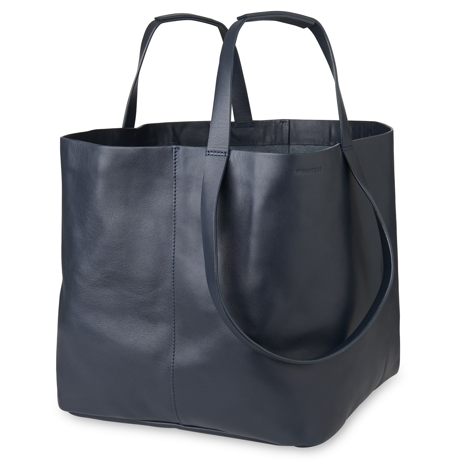 03964f67b3 Whistles Java Oversized Tote Bag in Black - Lyst