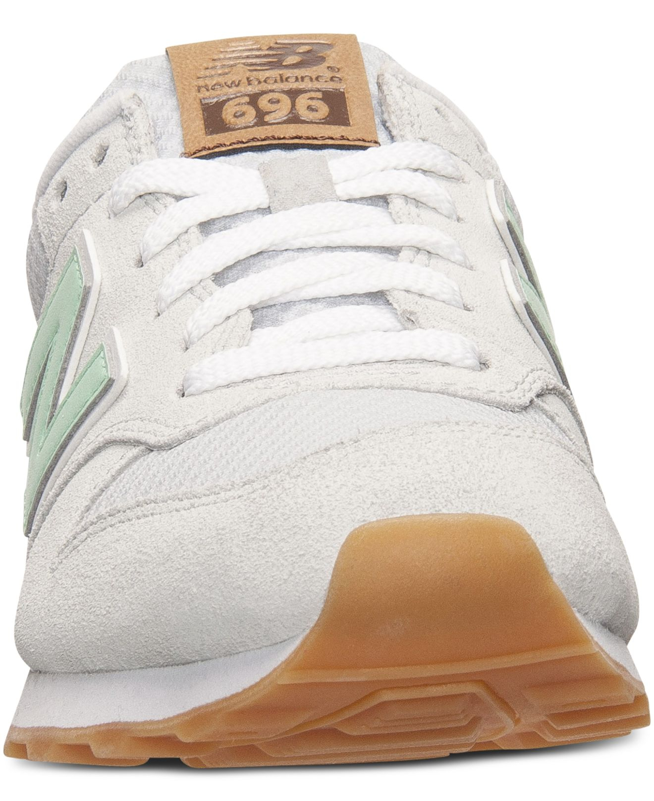 Lyst - New Balance Women s 696 Casual Sneakers From Finish Line in Green bb799125ab0c
