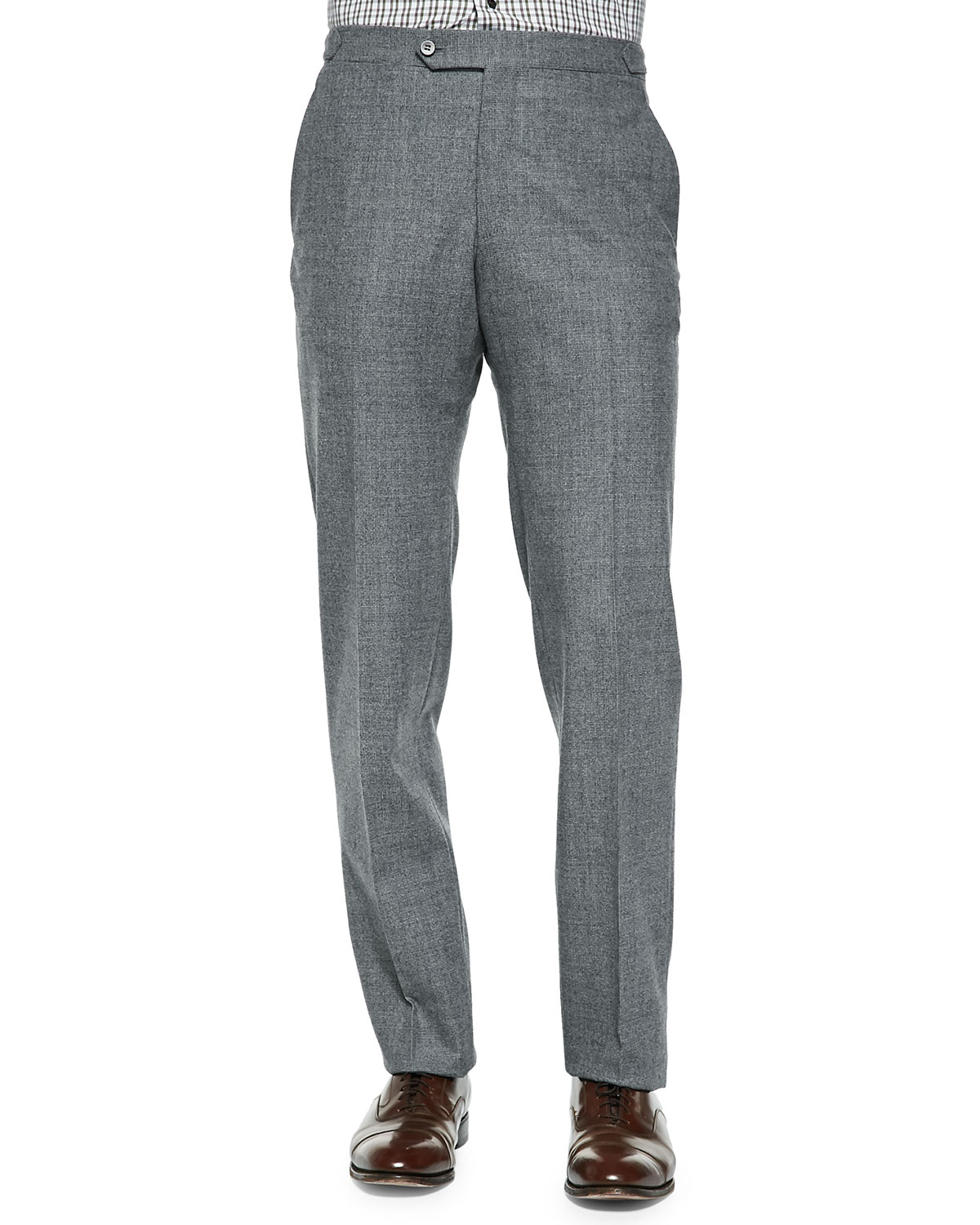 Isaia Gry Lt Flnl In Gray For Men Lyst