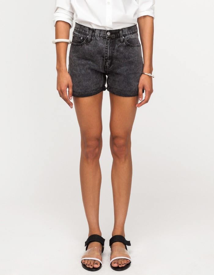 Cheap monday Thrift Short In Black Dream in Black | Lyst