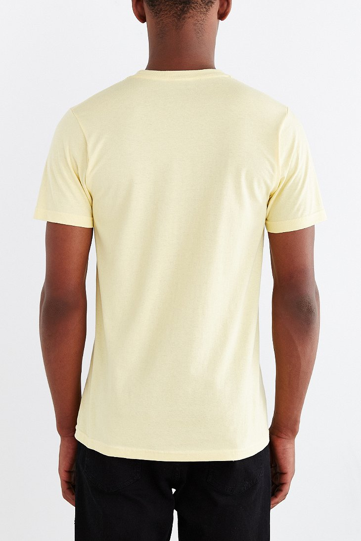 Lyst - Design By Humans Tattooed Walrus Tee in Yellow for Men