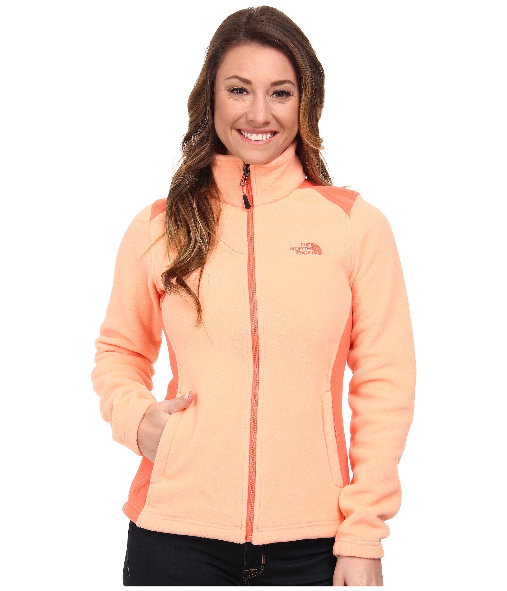 lyst the north face khumbu 2 jacket in orange rh lyst com