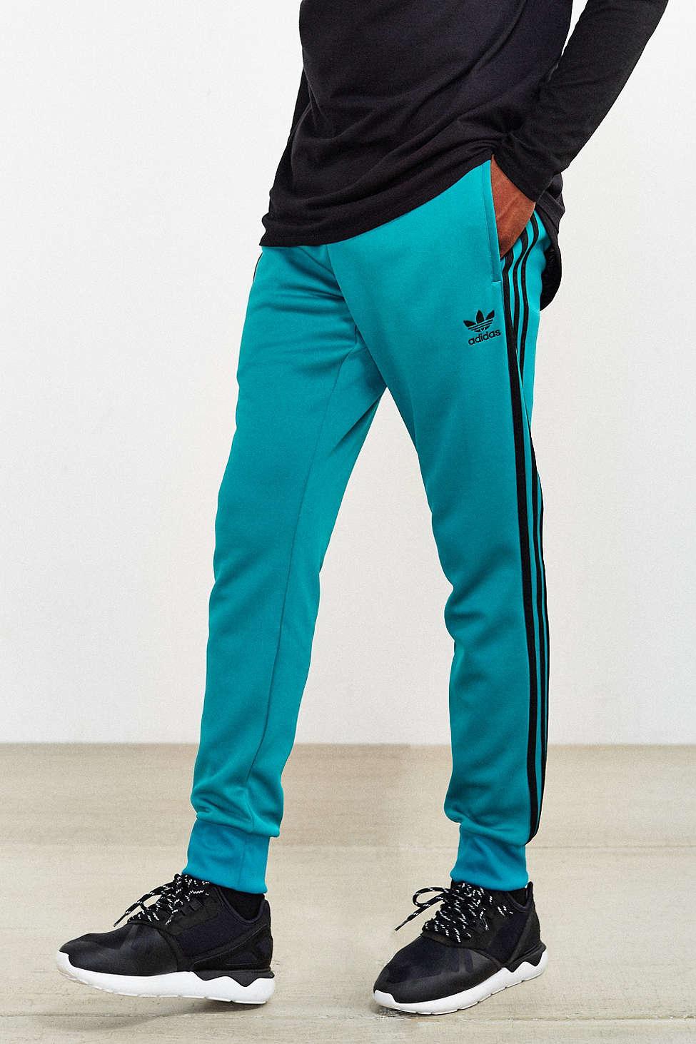 lyst adidas superstar - traccia le originali originali in blu