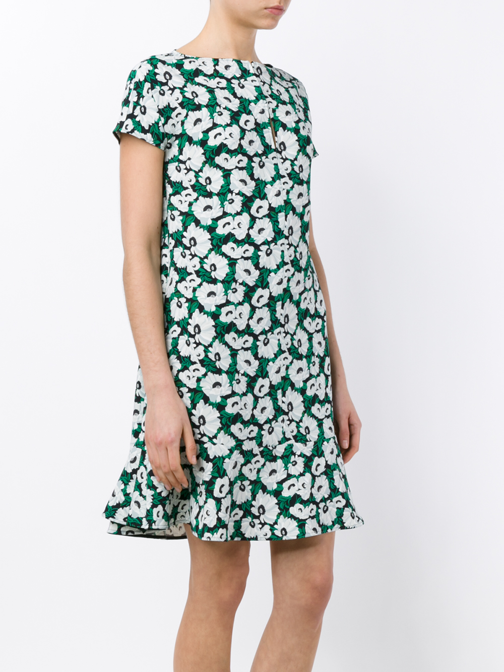 Stella McCartney Floral Print Dress Outlet Collections Factory Outlet Sale Online V9ZRGyzJj
