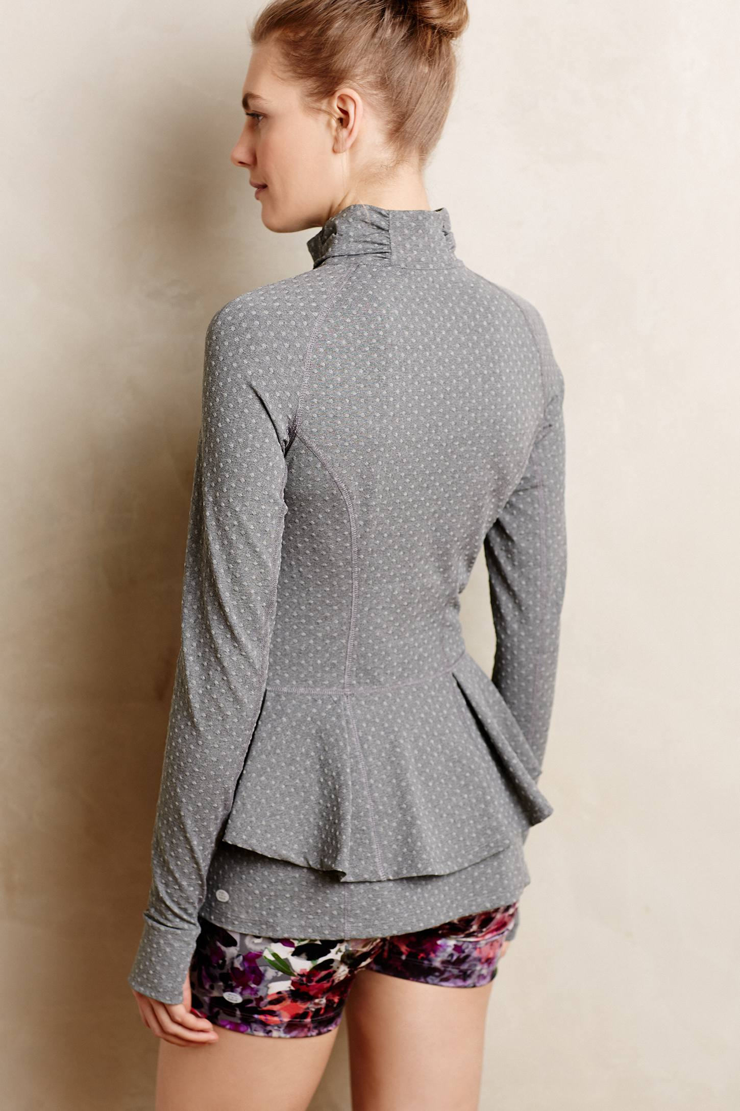 Pure + good Dotted Jacquard Jacket in Gray | Lyst