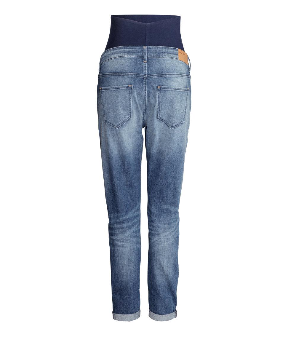 Hu0026m Mama Boyfriend Jeans in Blue | Lyst