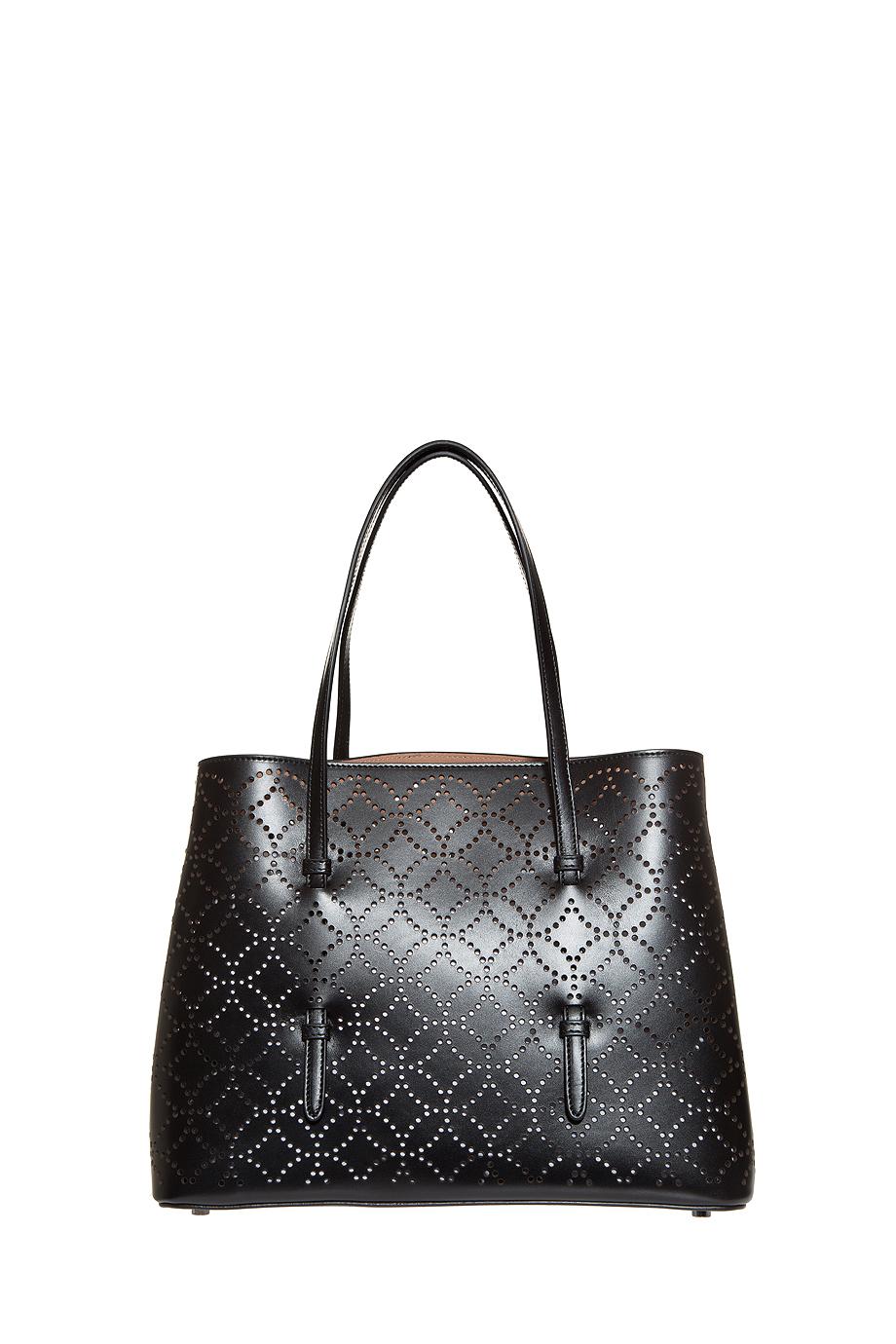 Alaïa Arabesque Tote Bag in Black