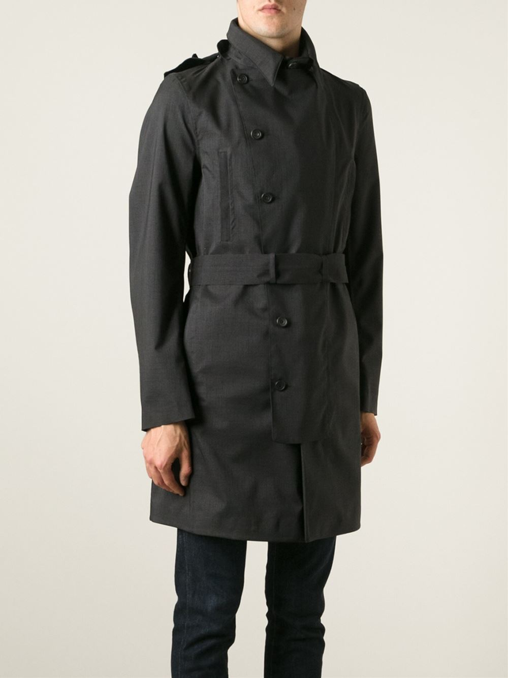 black trench coat with hood - photo #19