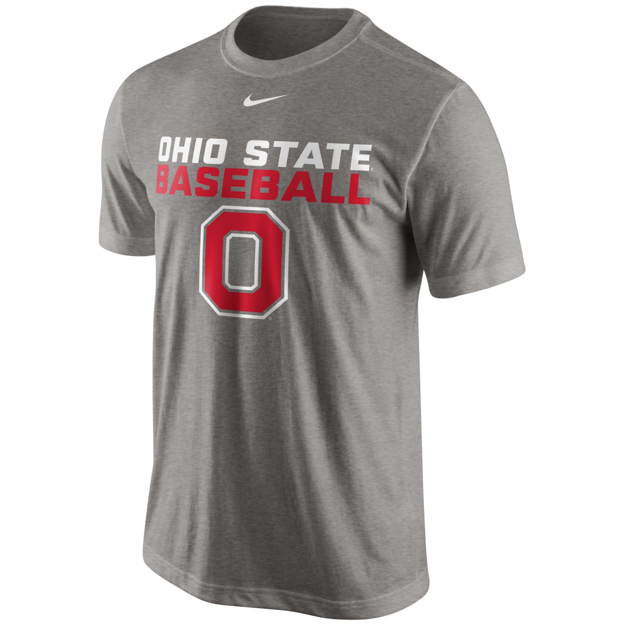 Nike mens ohio state buckeyes team issue legend tshirt in for Ohio state shirts mens