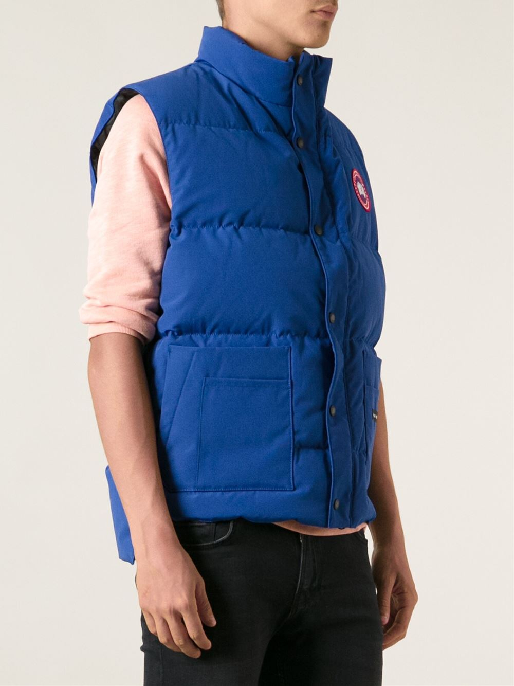 Canada Goose montebello parka outlet discounts - Canada goose 'freestyle' Vest in Blue for Men | Lyst