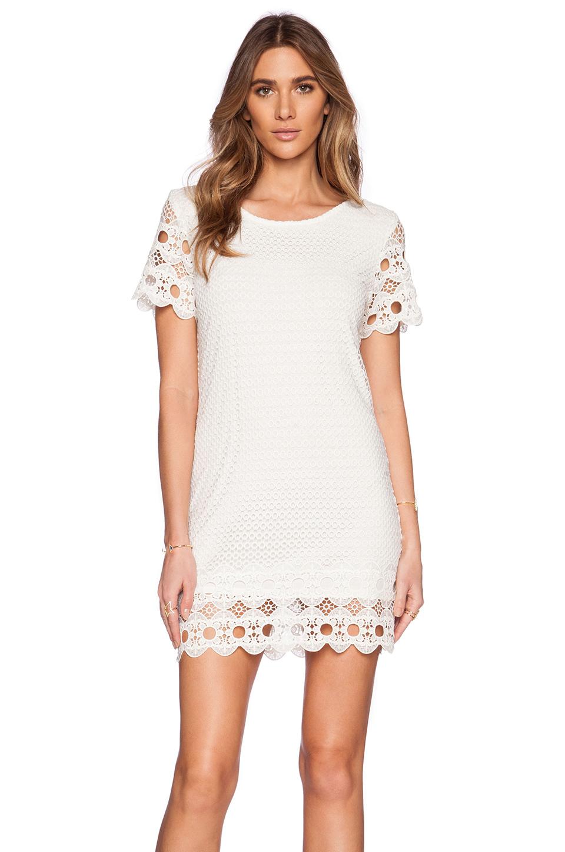 Lyst Liv Mary Eyelet Shift Dress In White
