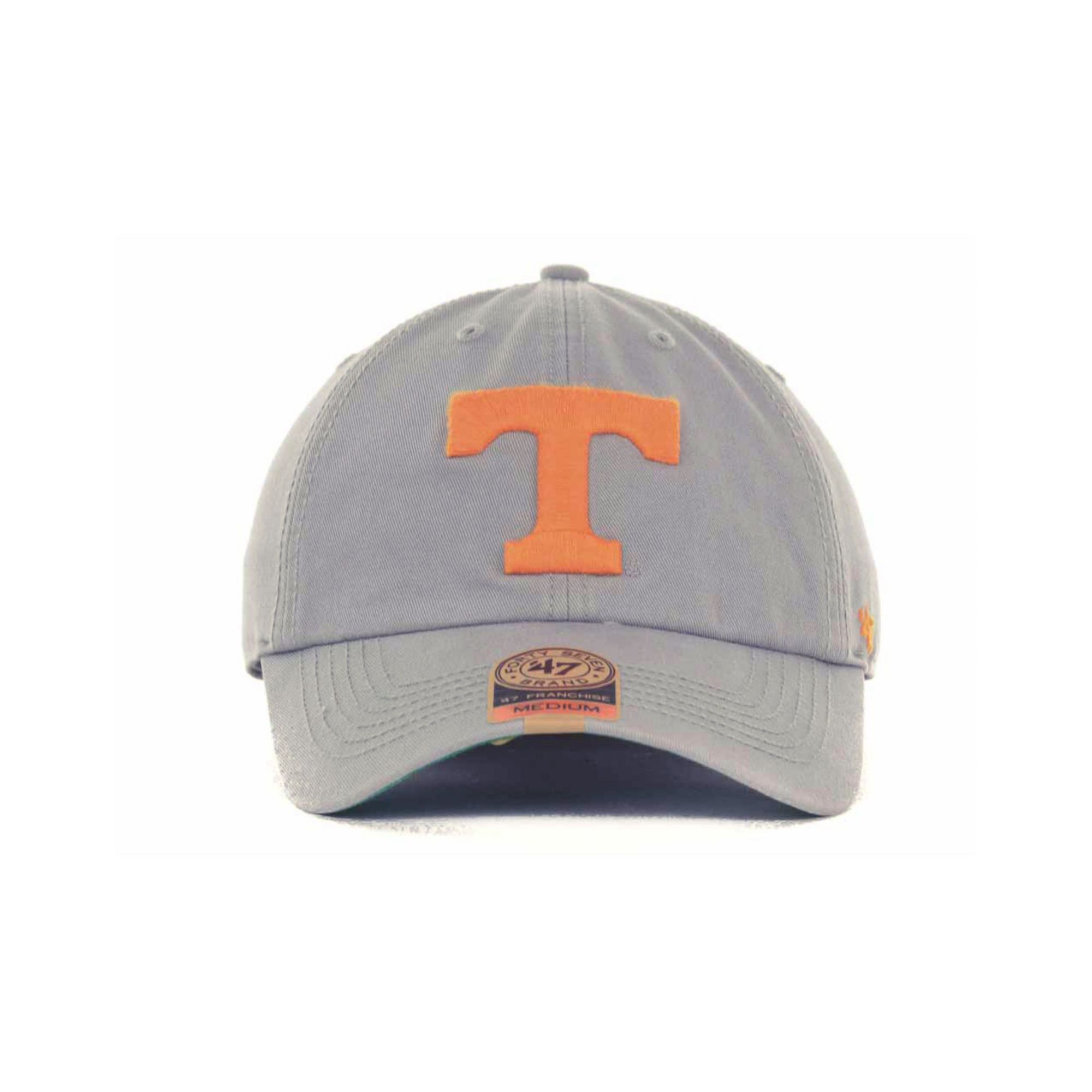new styles db44e 37bf8 ... discount lyst 47 brand tennessee volunteers ncaa 47 grey franchise cap  in fb936 77257