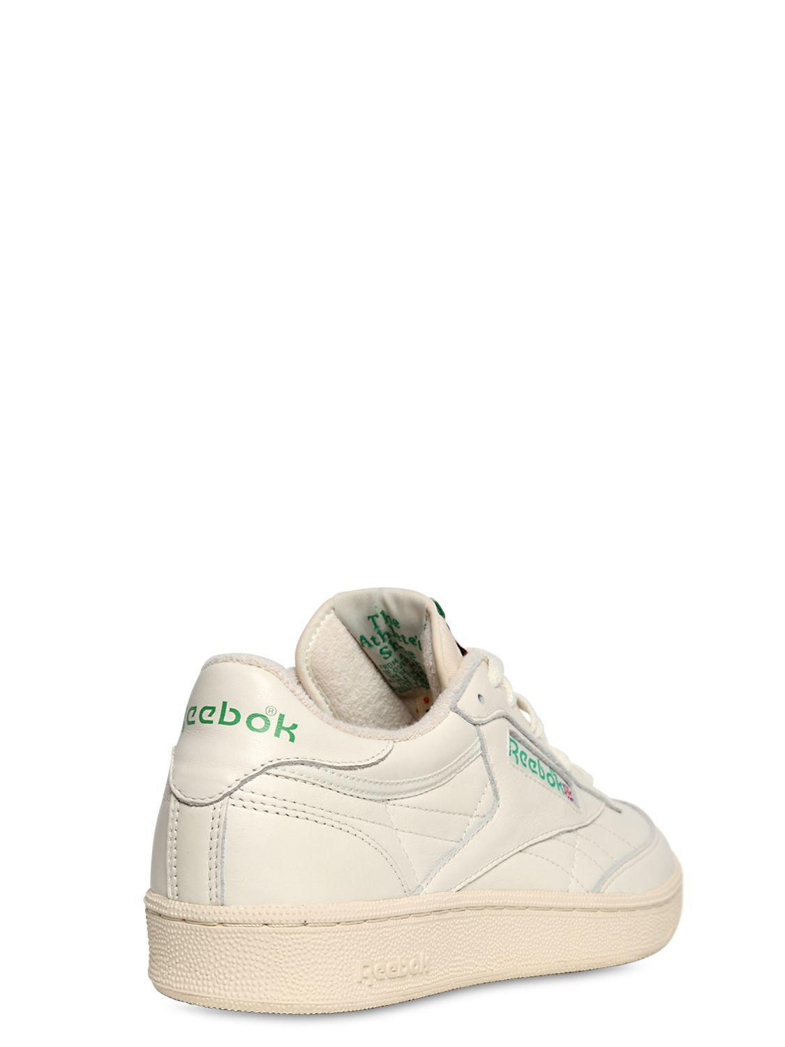 b9e8451f272 Reebok Club C 85 Vintage Leather Low-Top Sneakers in White for Men - Lyst
