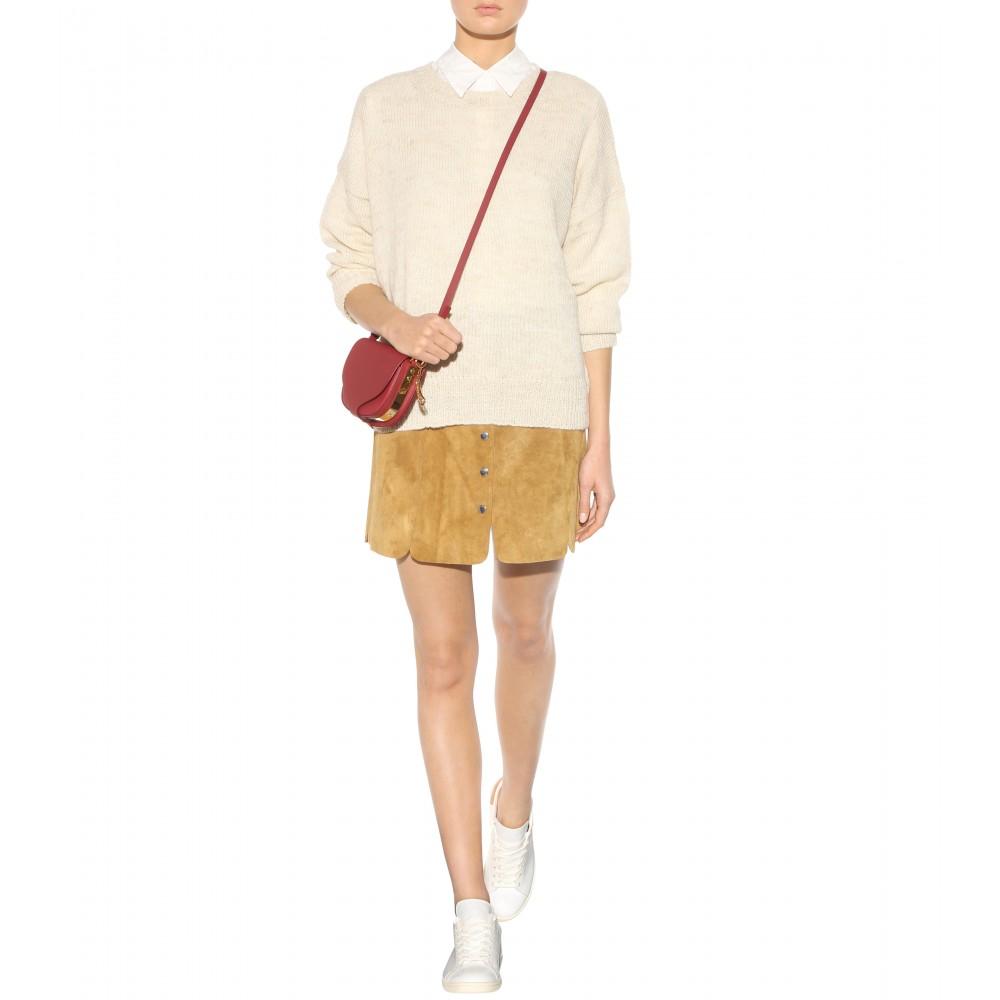 872bcffc2f Étoile Isabel Marant Anna Suede Miniskirt in Brown - Lyst