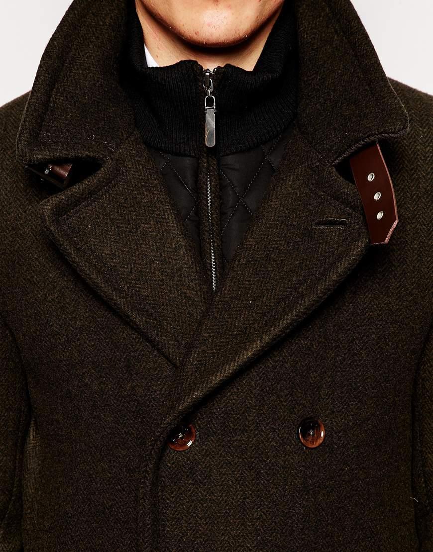 Topman Mens Brown Faux Fur Pea Coat $ Get a Sale Alert Free Shipping $20+ & FR at Topman Topman Mens Grey Gray Pea Coat With Wool Jacket $ Get a Sale Alert at END Clothing Givenchy Wool Pea Coat $2, Get a Sale Alert.