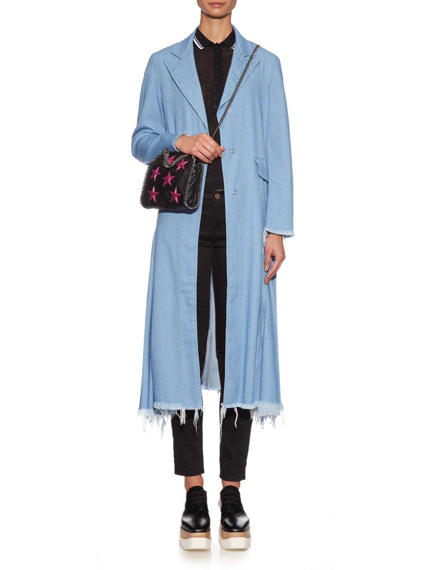 09dd26f37b Lyst - Stella McCartney Falabella Tiny Faux-leather Cross-body Bag ...