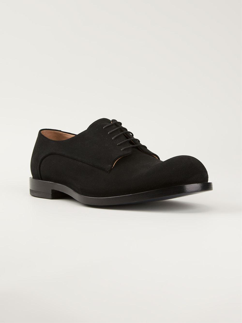 Black Matte Derby Shoes