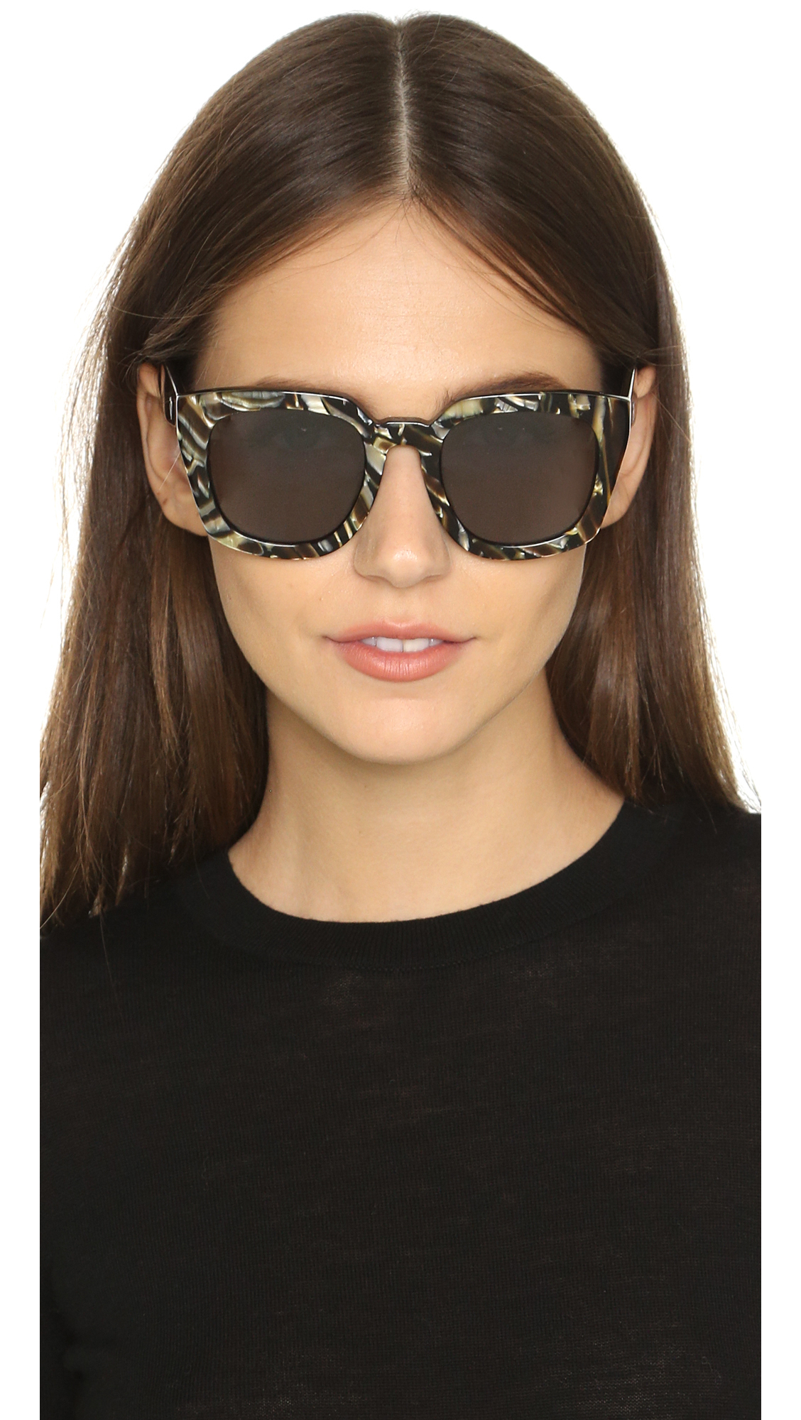 71c5aa74860 Valley Eyewear Orbis Sunglasses in White - Lyst