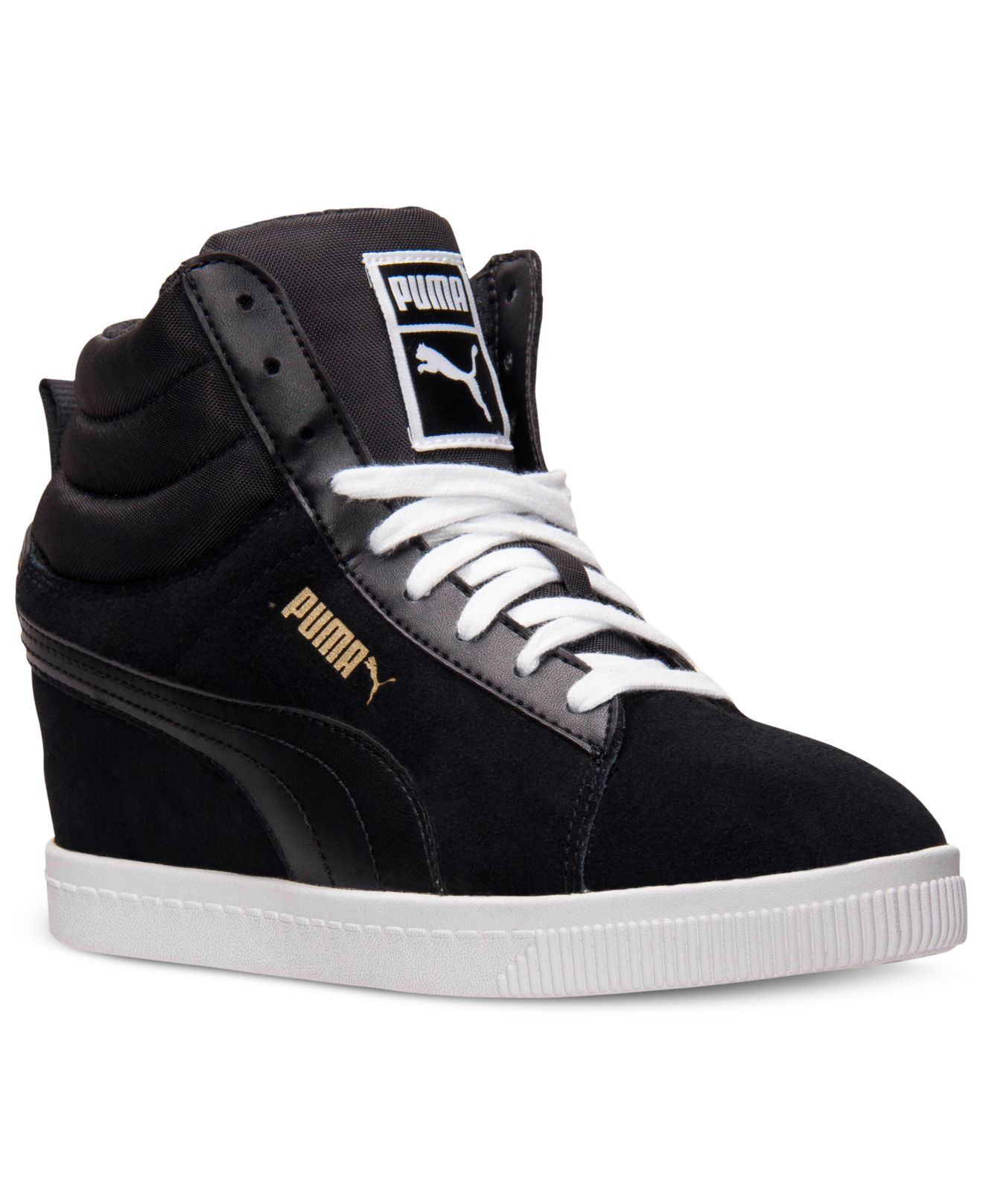 s classic wedge casual sneakers from finish