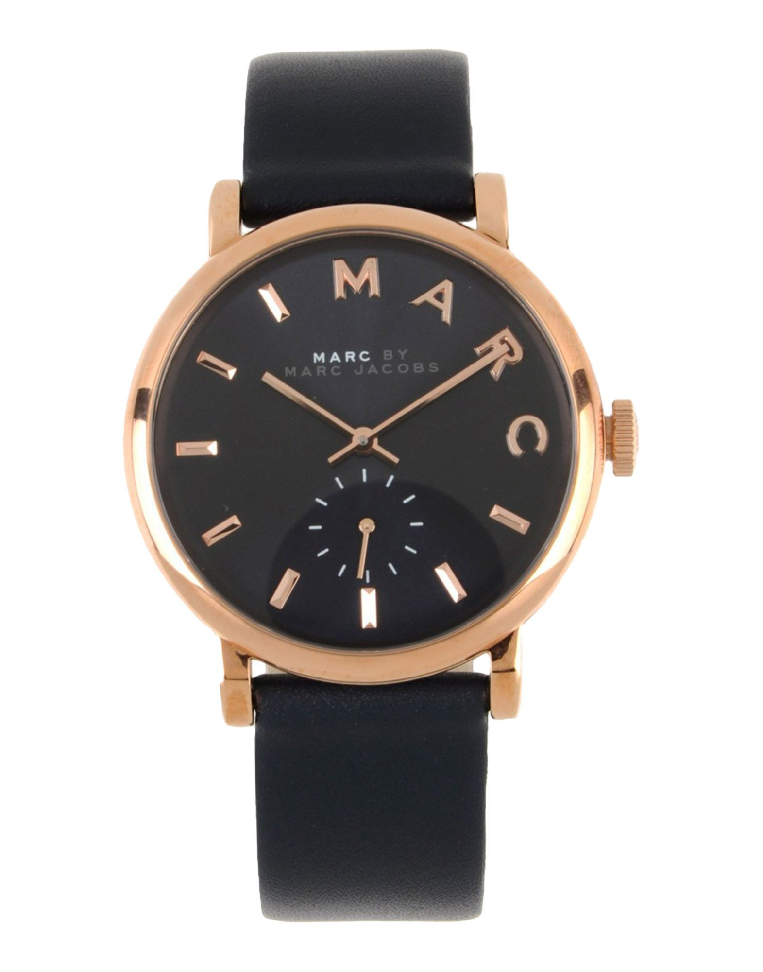 marc by marc jacobs wrist watch in blue dark blue lyst. Black Bedroom Furniture Sets. Home Design Ideas