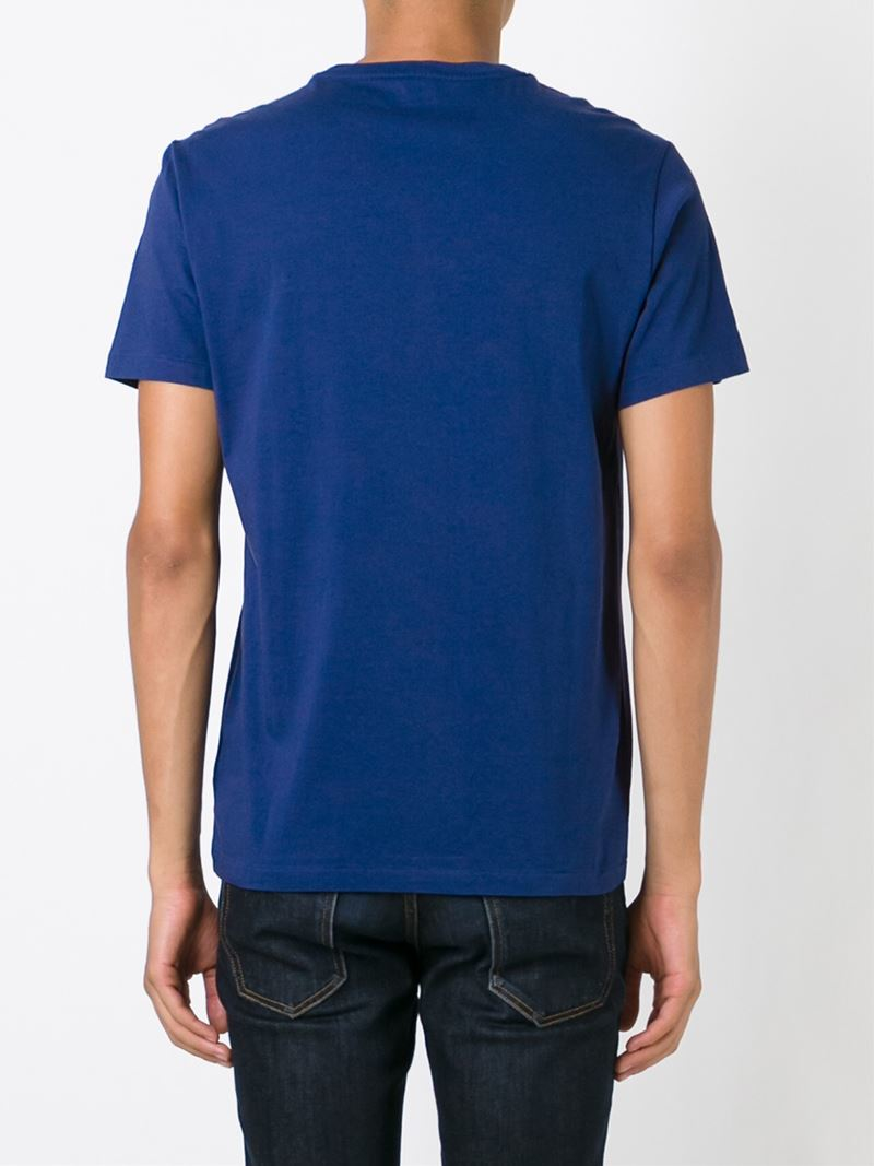 lyst polo ralph lauren classic t shirt in blue for men. Black Bedroom Furniture Sets. Home Design Ideas