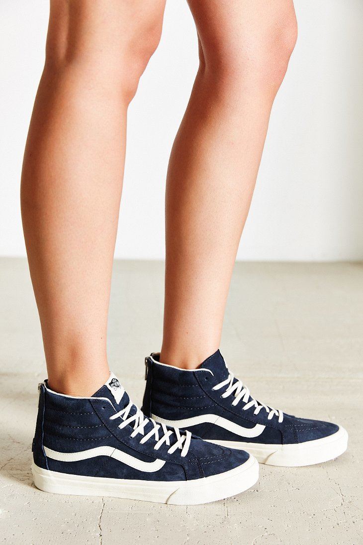 Lyst - Vans Sk8-hi Scotchgard Slim Sneaker in Blue 5250317924