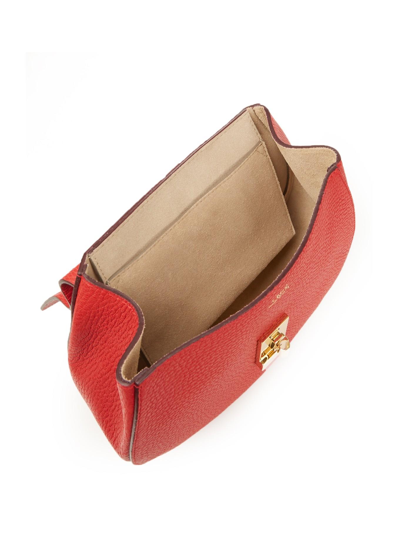 chloe drew small leather shoulder bag