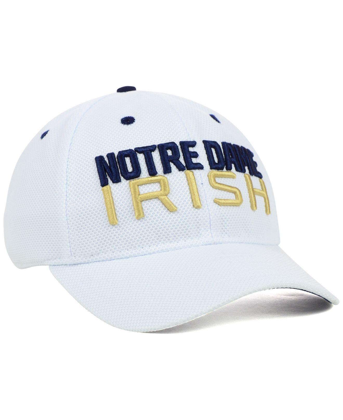 ... switzerland lyst adidas notre dame fighting irish campus slope flex cap  in bdd52 4e3e0 ba1bbb9d1e98