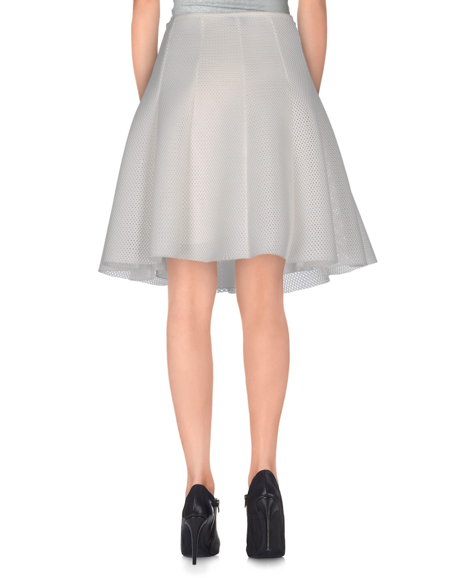moncler white skirt