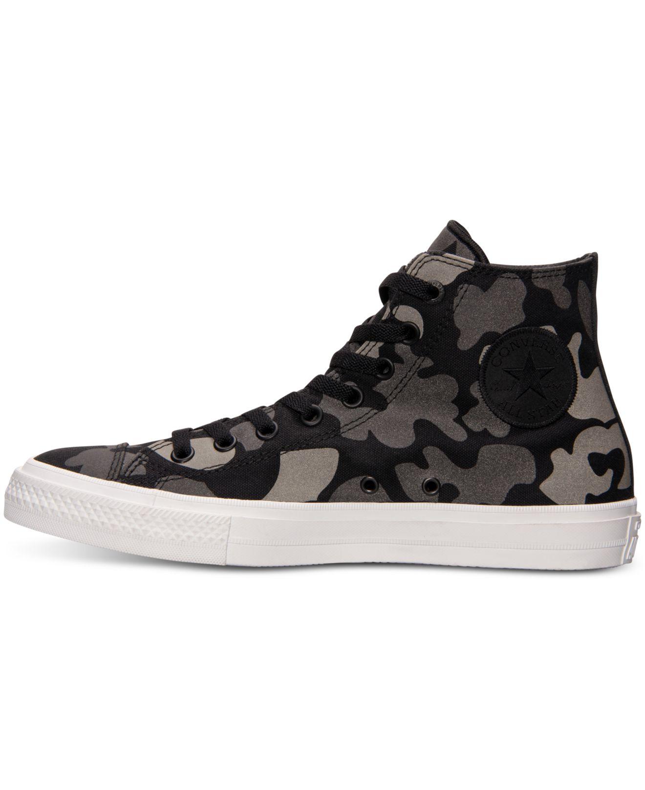 95dc2b699c64d8 Lyst - Converse Men s Chuck Taylor All Star Ii Hi Casual Sneakers ...