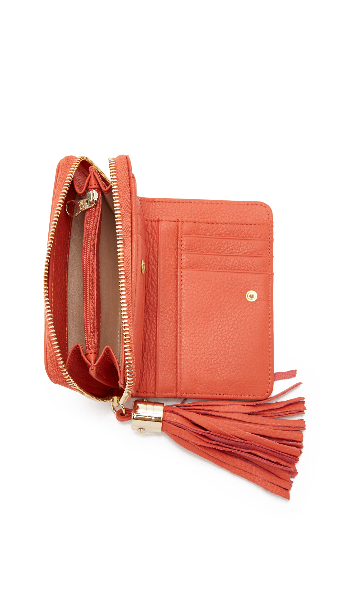 flap wallet - Red See By Chlo MFQ3uIrNc