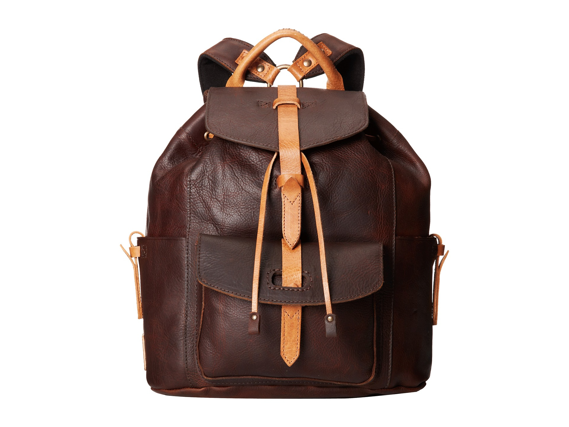 Lyst - Will Leather Goods Rainier Backpack in Brown 1c9c83c18