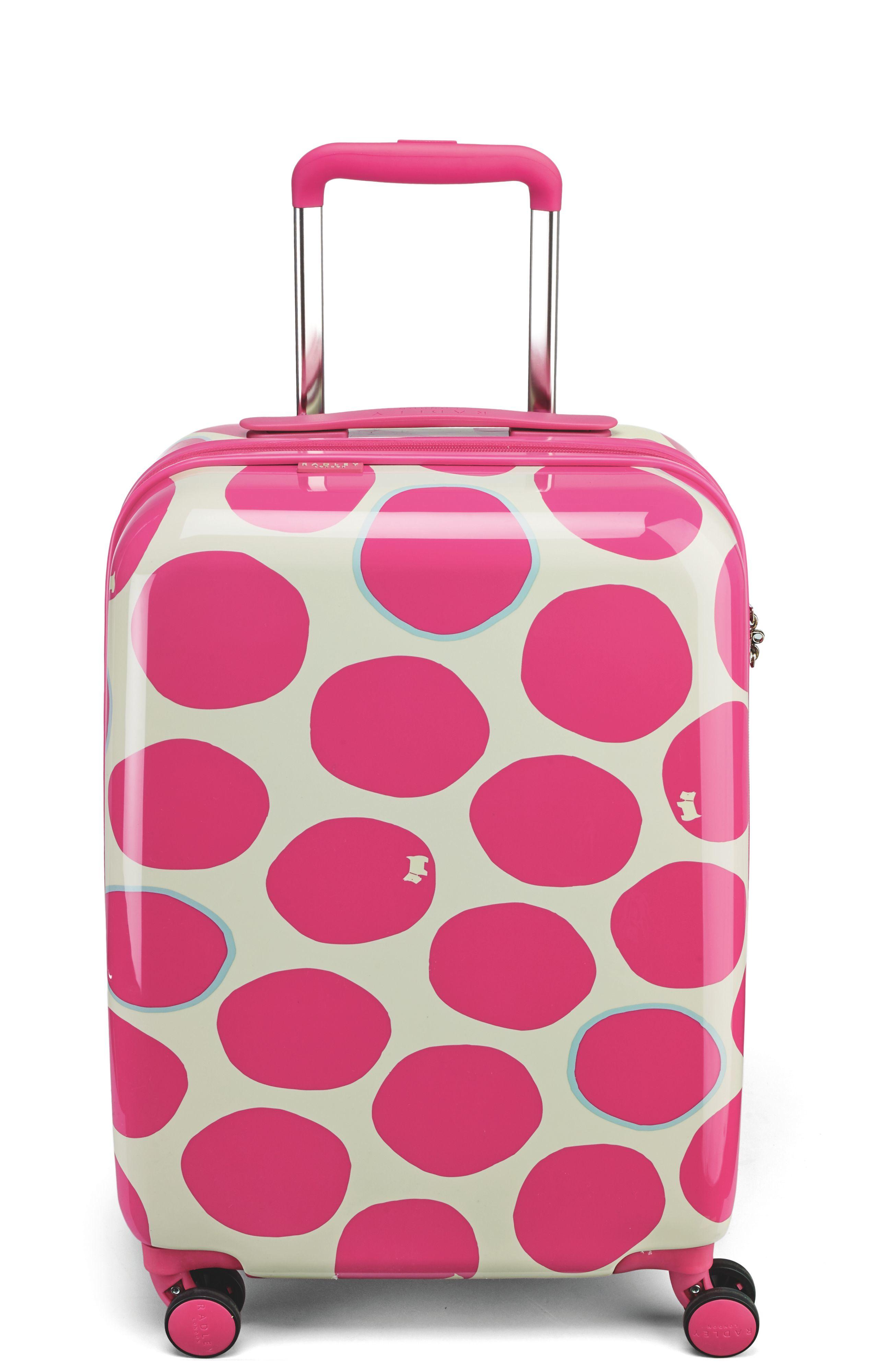 Radley Spot On 4 Wheel Hard Large Case In Pink Lyst