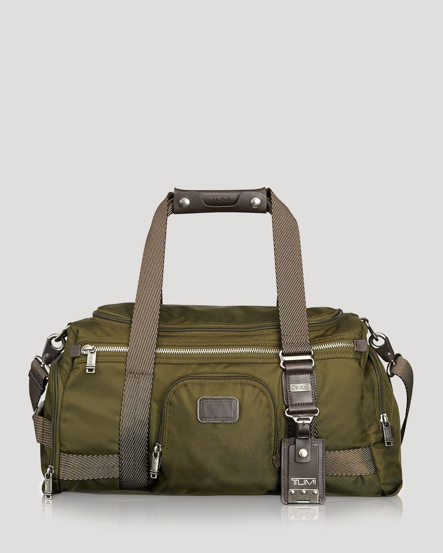 Tumi Alpha Bravo Maxwell Gym Bag In Green For Men Lyst