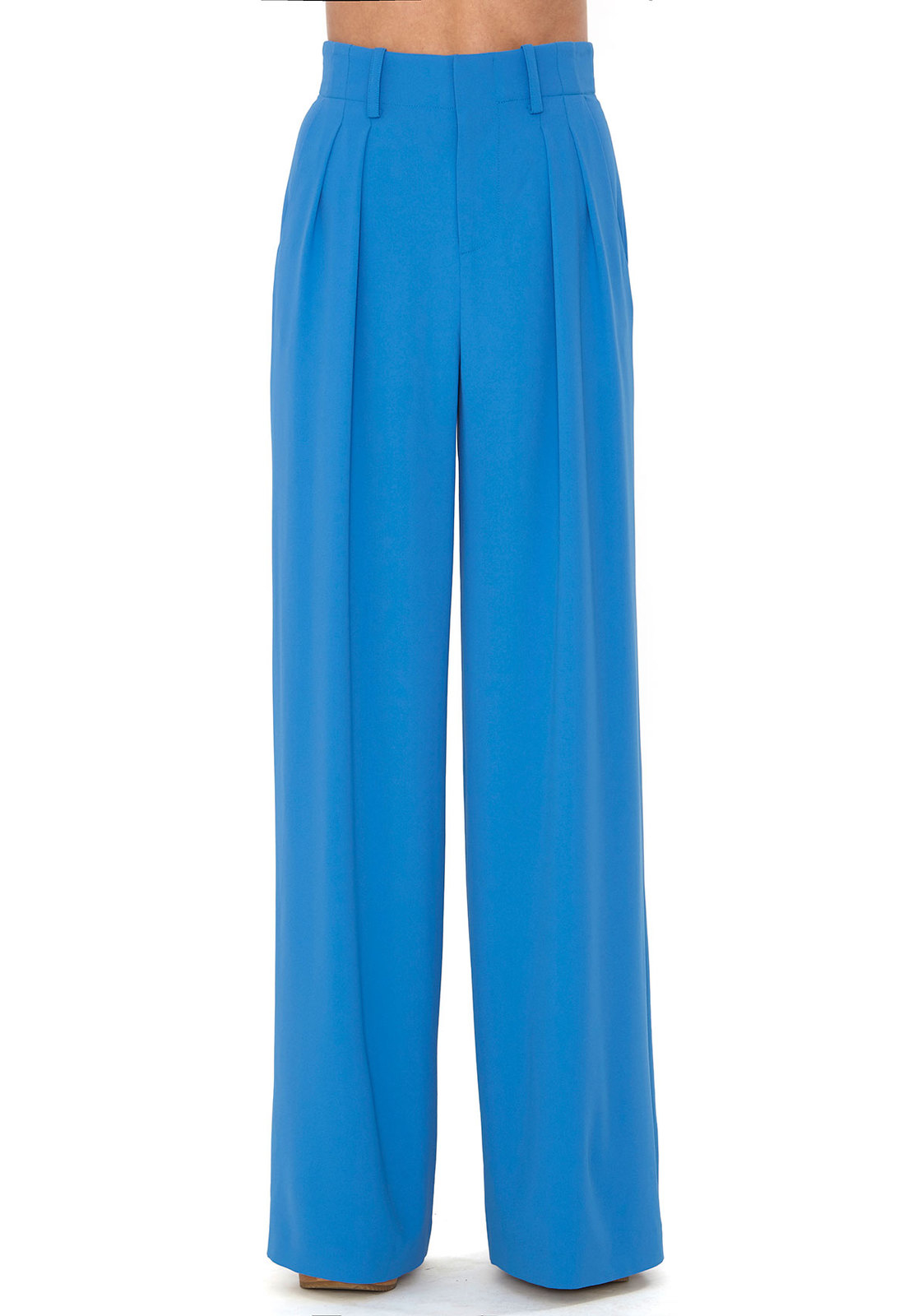 Alice   olivia Royal Blue Eloise Trouser in Blue | Lyst
