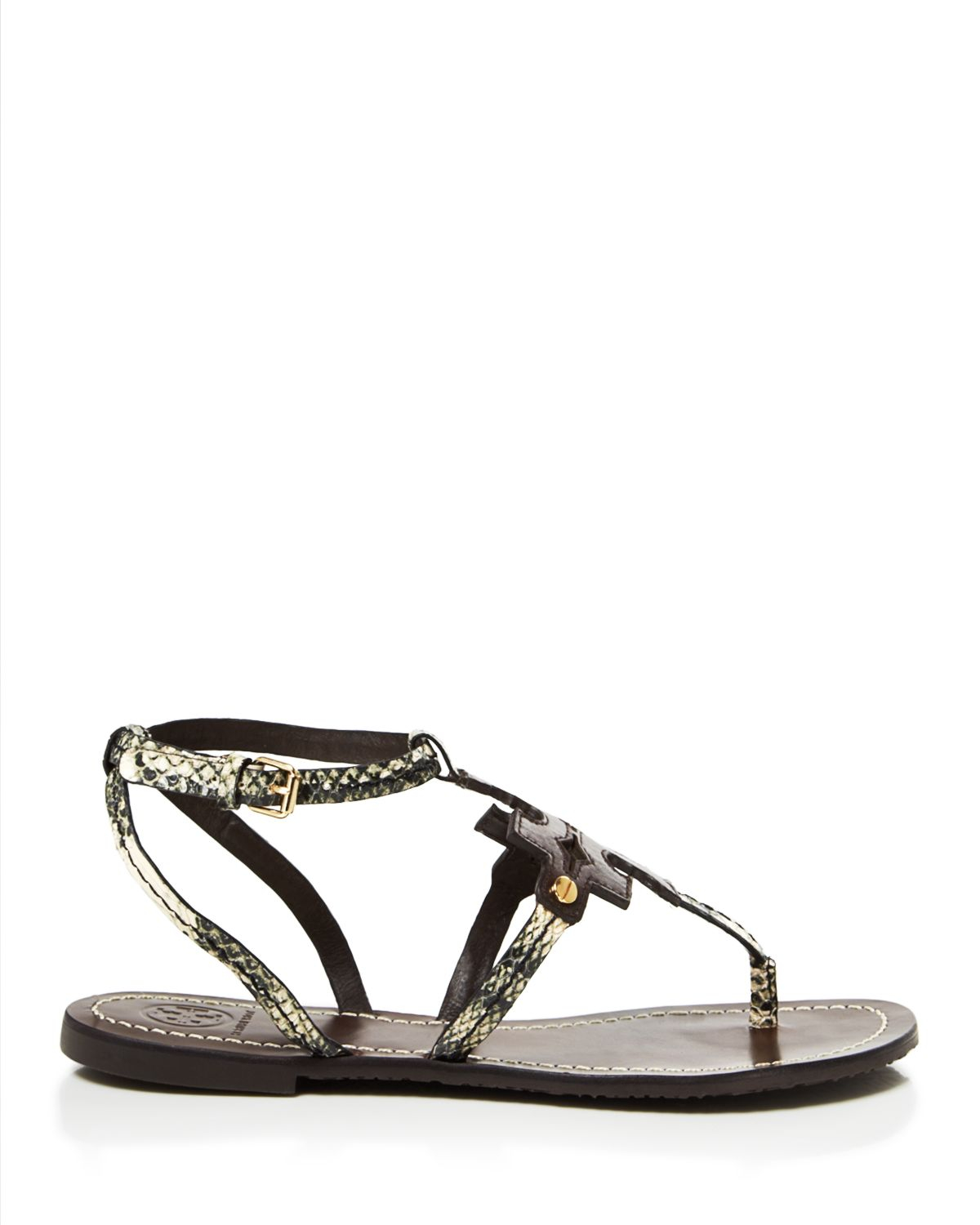 ecdda77942a discount tory burch phoebe sandals 872b5 2f692  canada lyst tory burch flat  thong sandals chandler in black b9b80 b23b9