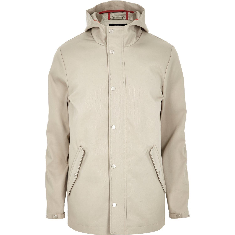 Grey Zip River Island Jacket