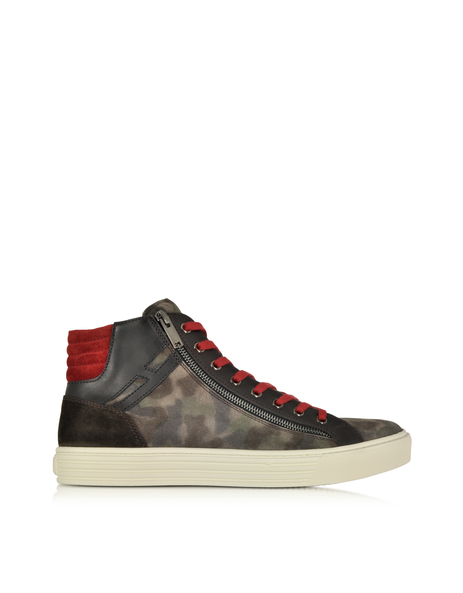 hogan rebel multicolor leather and suede high top sneaker for men lyst. Black Bedroom Furniture Sets. Home Design Ideas