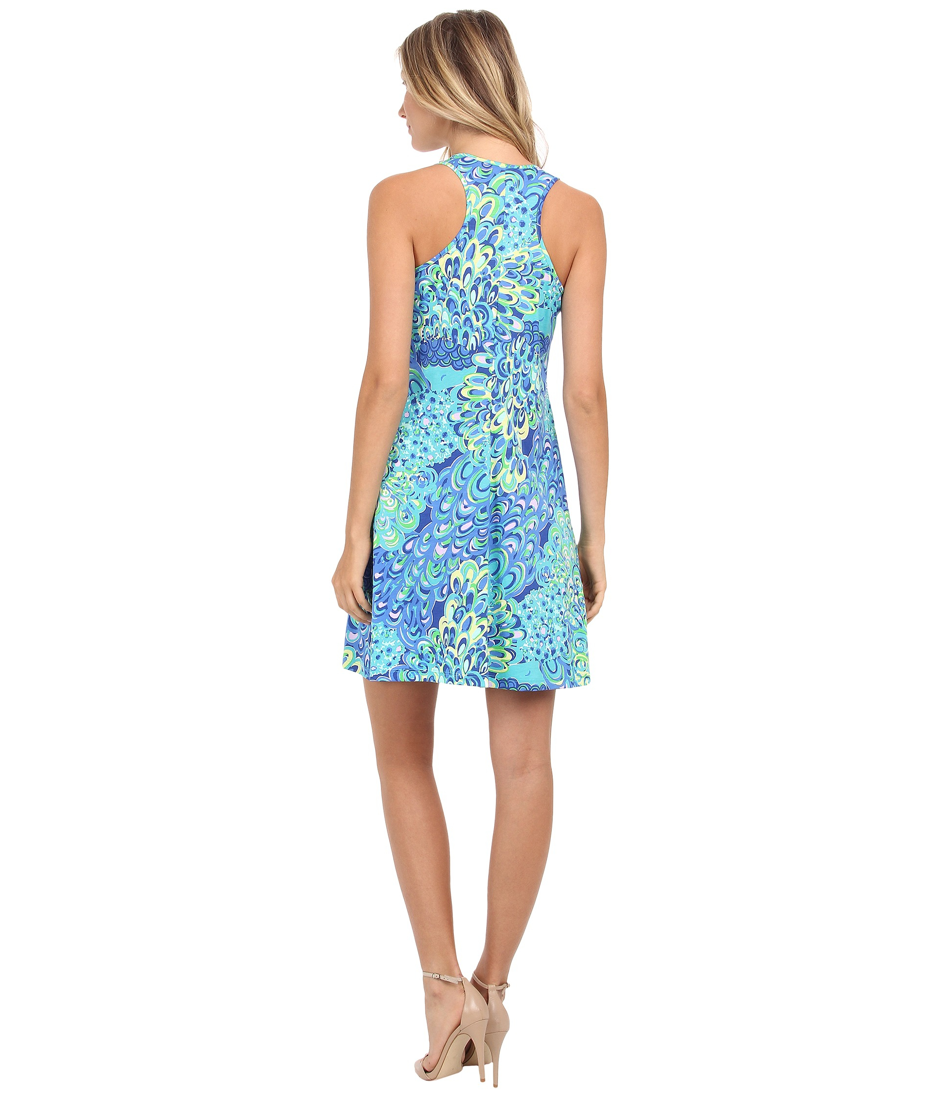 Lyst - Lilly Pulitzer Melle Dress in Blue