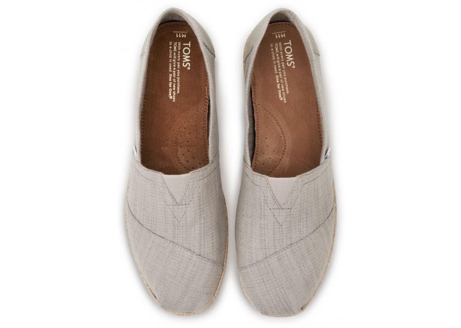 Toms Shoes Mens Gray Lace