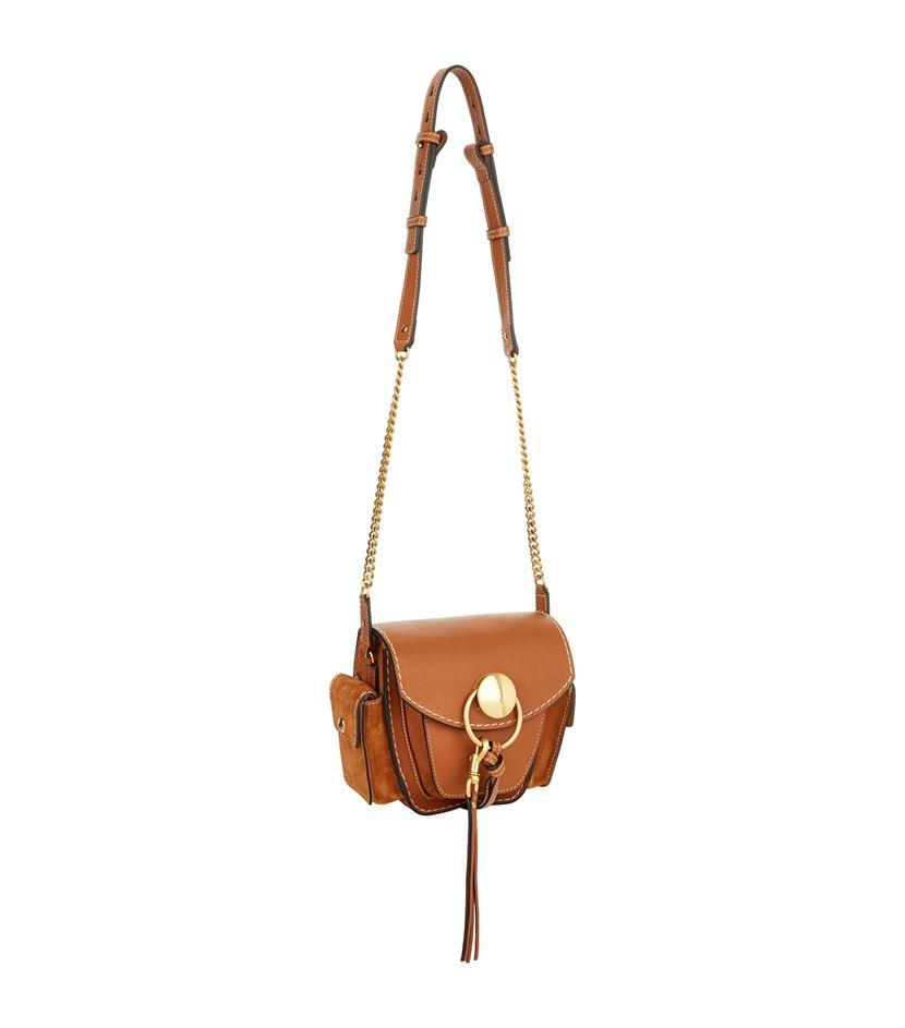 fake chloe jodie small suede shoulder bag
