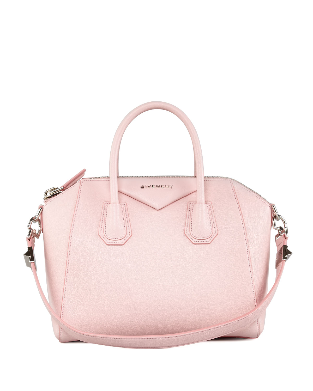 319babd3b7d Givenchy Mini Antigona Tote in Pink - Lyst