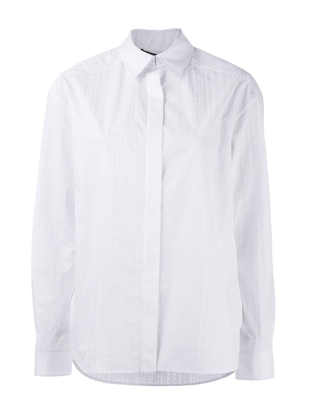 White Mens Dress Shirt